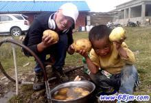 梦见洗土豆