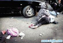 梦见女儿被车撞
