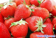 梦见红色水果
