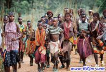 梦见非洲部落