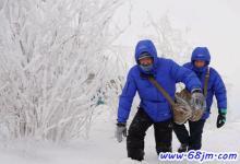 梦见在积雪中艰难的行走
